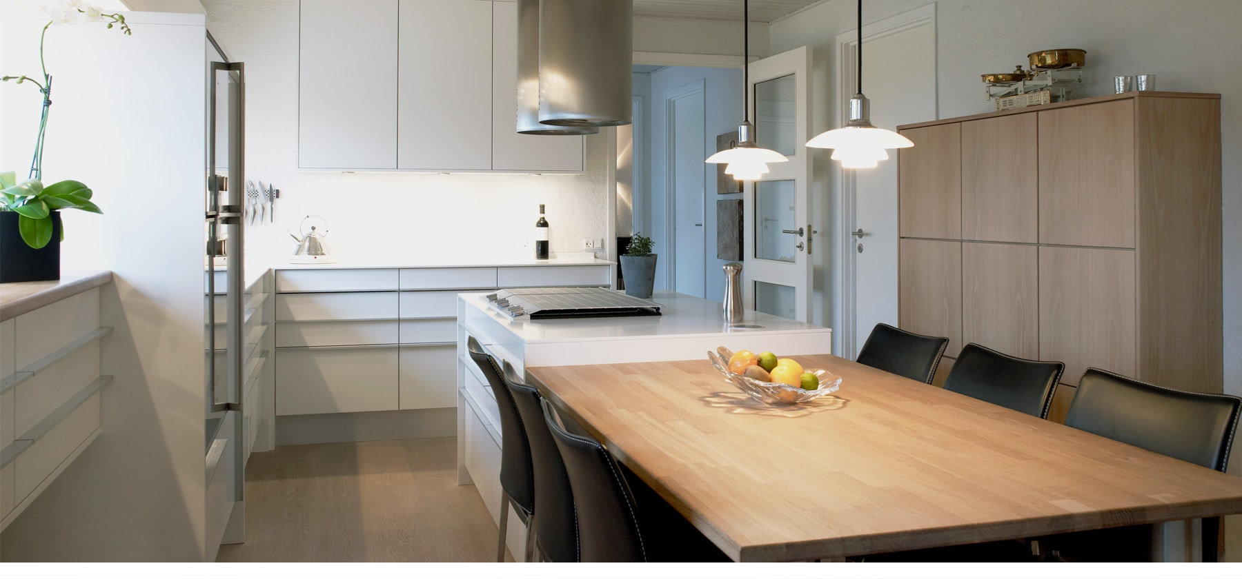 Exclusive Nordic kitchen designDAILY LUXURY <br> IN ALL ITS SIMPLICITY
